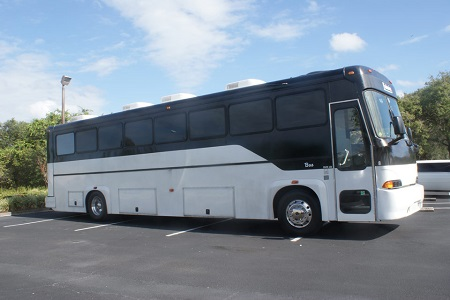 40-50 passenger party bus rental