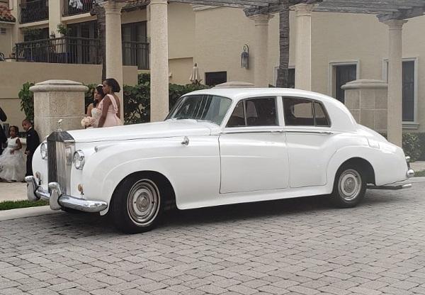 Rolls Royce antique car